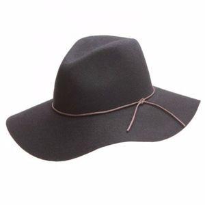 Peter Grimm Brown Wide Brimmed Wool Hat